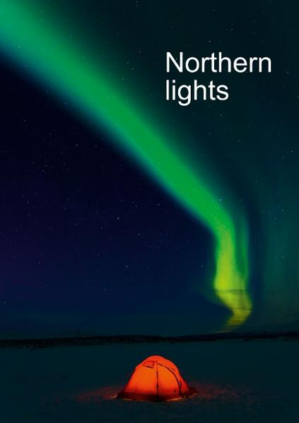 Northern lights, upright format (Poster Book DIN A2 Portrait) - Coverbild