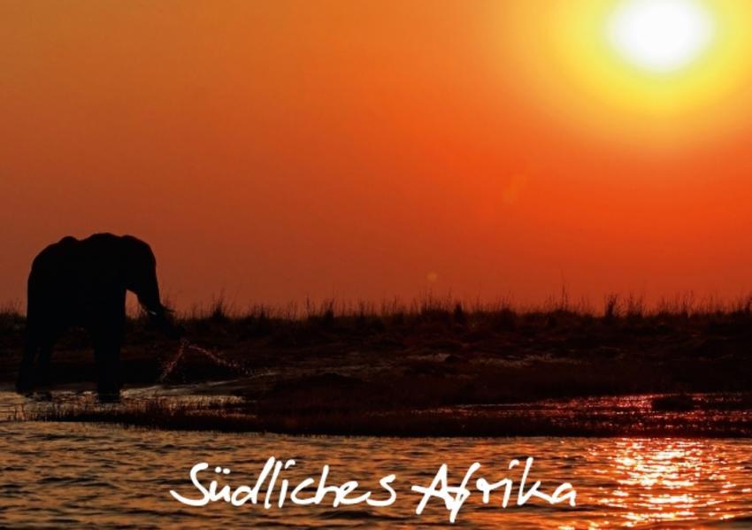 Südliches Afrika (Tischaufsteller DIN A5 quer) - Coverbild