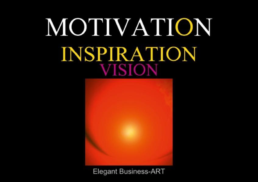 MOTIVATION - INSPIRATION - VISION (UK-Version) (Poster Book DIN A2 Landscape) - Coverbild