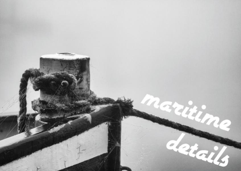 maritime details (Poster Book DIN A4 Landscape) - Coverbild