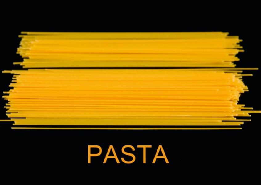 Pasta / UK-Version (Poster Book DIN A4 Landscape) - Coverbild