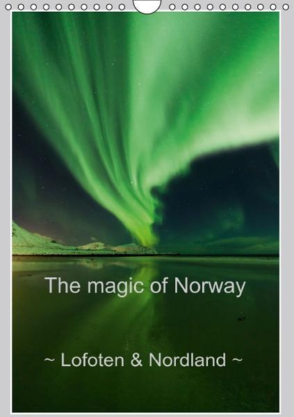 The magic of Norway ~ Lofoten & Nordland ~ (Wall Calendar perpetual DIN A4 Portrait) - Coverbild