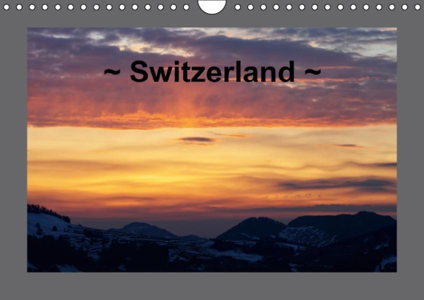 Switzerland (Wall Calendar perpetual DIN A4 Landscape) - Coverbild