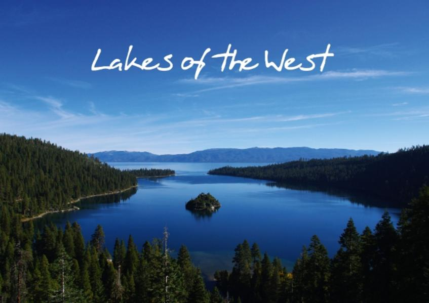 Lakes of the West / UK-Version (Poster Book DIN A4 Landscape) - Coverbild
