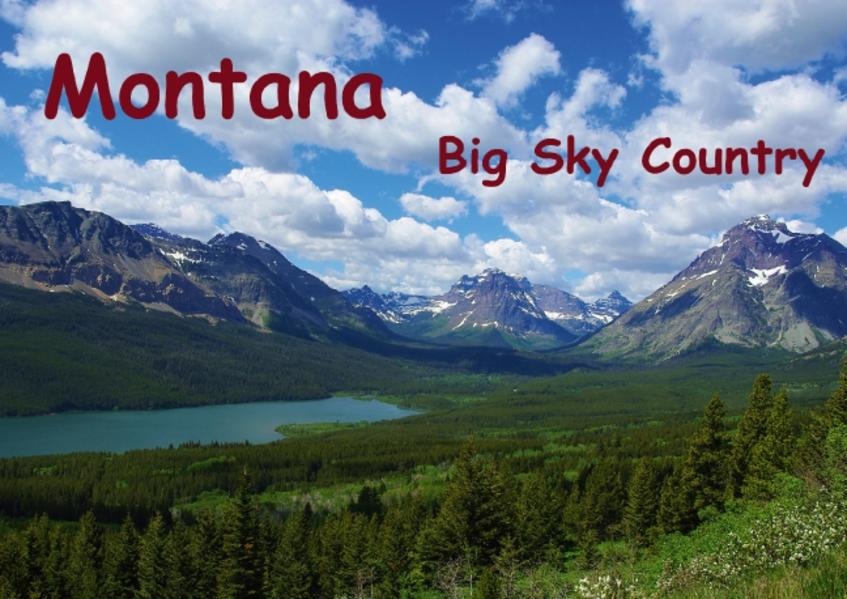 Montana Big Sky Country / UK-Version (Poster Book DIN A4 Landscape) - Coverbild