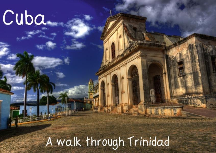 A walk through Trinidad, Cuba (Poster Book DIN A3 Landscape) - Coverbild