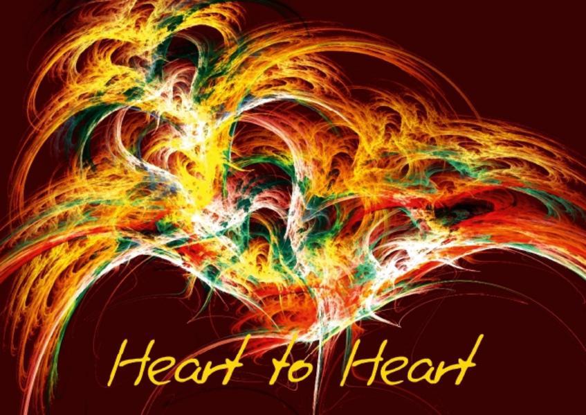 Heart to Heart (Poster Book DIN A4 Landscape) - Coverbild