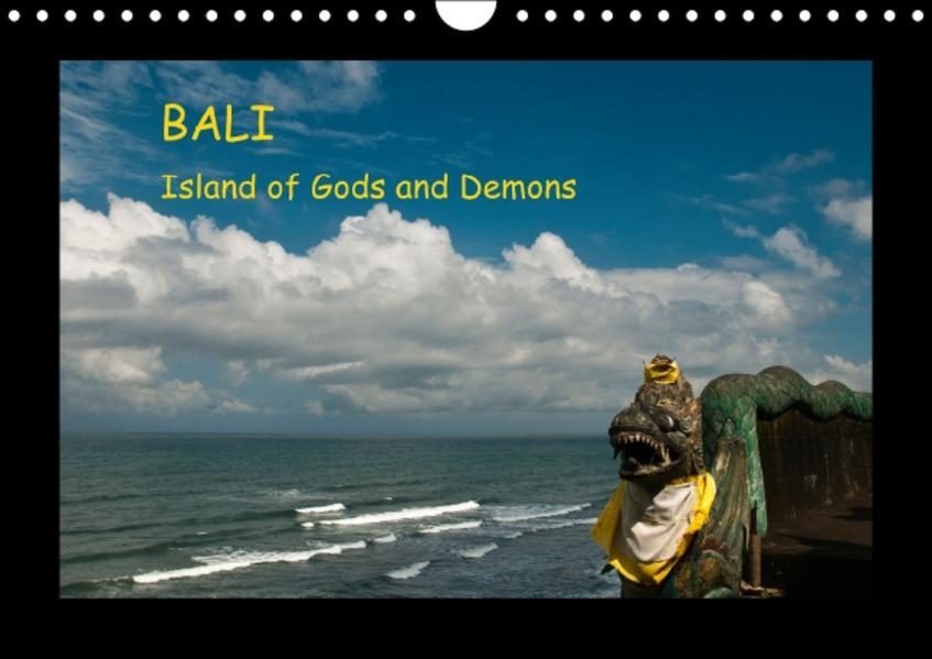 Bali - Island of Gods and Demons (Wall Calendar perpetual DIN A4 Landscape) - Coverbild