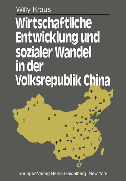 Wirtschaftliche Entwicklung und sozialer Wandel in der Volksrepublik China - Coverbild