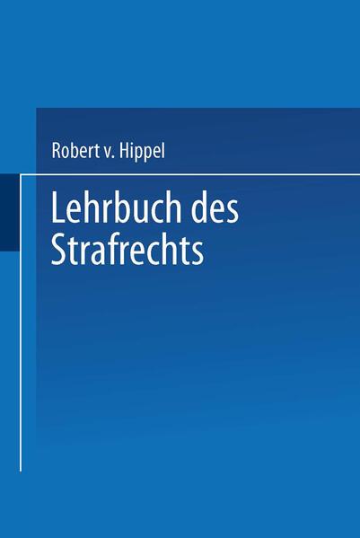 Lehrbuch des Strafrechts - Coverbild
