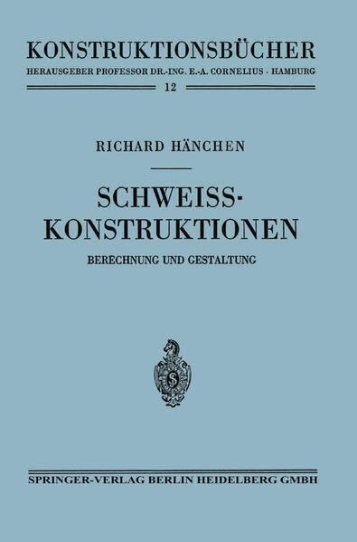 Schweißkonstruktionen - Coverbild