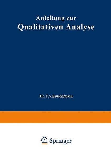 Anleitung zur Qualitativen Analyse - Coverbild