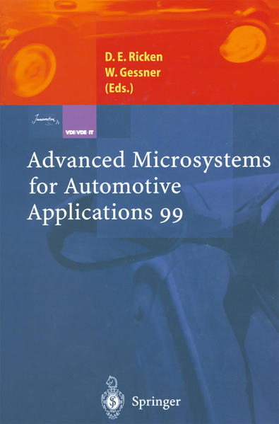 Advanced Microsystems for Automotive Applications 99 - Coverbild