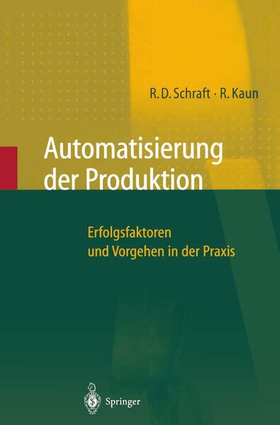 Automatisierung der Produktion - Coverbild