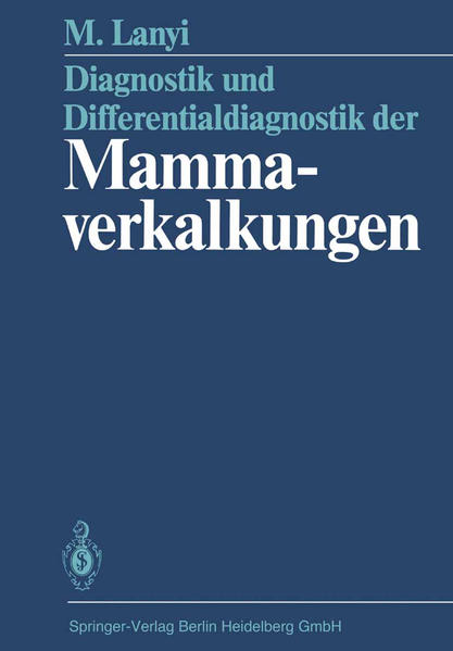 Diagnostik und Differentialdiagnostik der Mammaverkalkungen - Coverbild