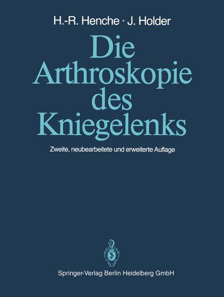 Die Arthroskopie des Kniegelenks - Coverbild