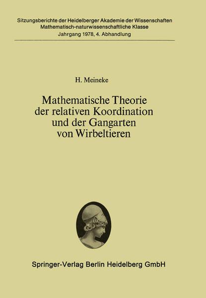 Mathematische Theorie der relativen Koordination und der Gangarten von Wirbeltieren - Coverbild