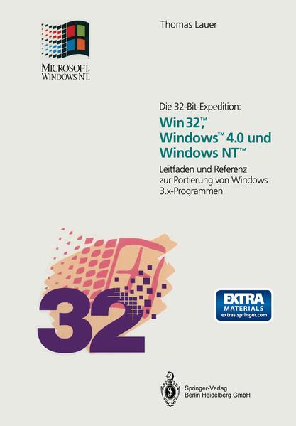 Die 32-Bit-Expedition: Win32™, Windows™4.0 und Windows NT™ - Coverbild