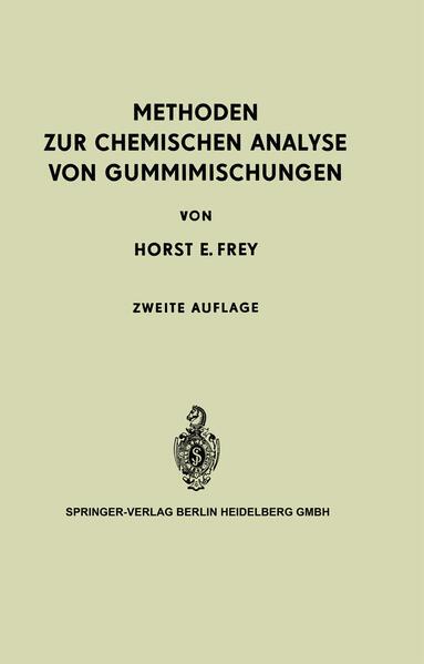 Methoden zur Chemischen Analyse von Gummimischungen - Coverbild