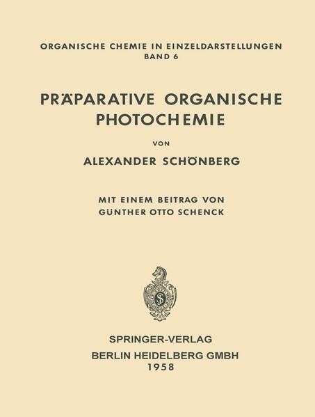 Präparative Organische Photochemie - Coverbild