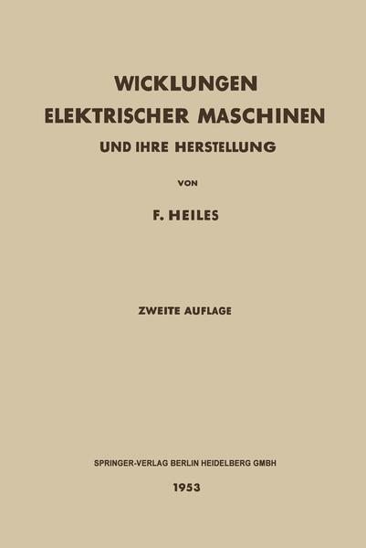Wicklungen Elektrischer Maschinen - Coverbild