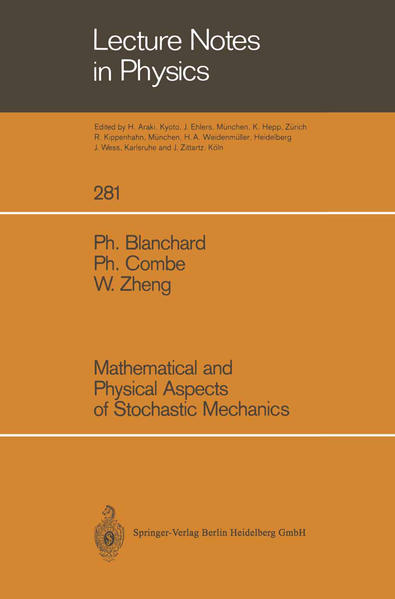 Mathematical and Physical Aspects of Stochastic Mechanics - Coverbild