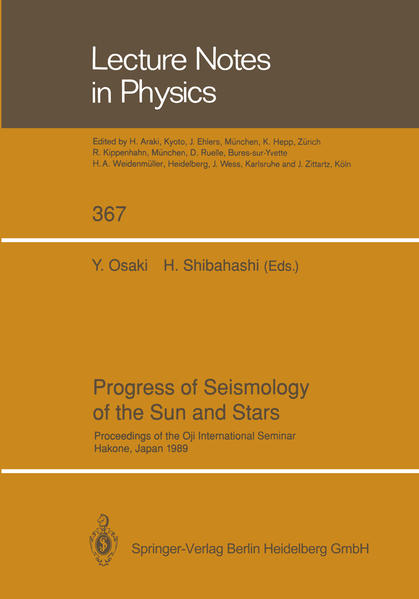 Progress of Seismology of the Sun and Stars - Coverbild