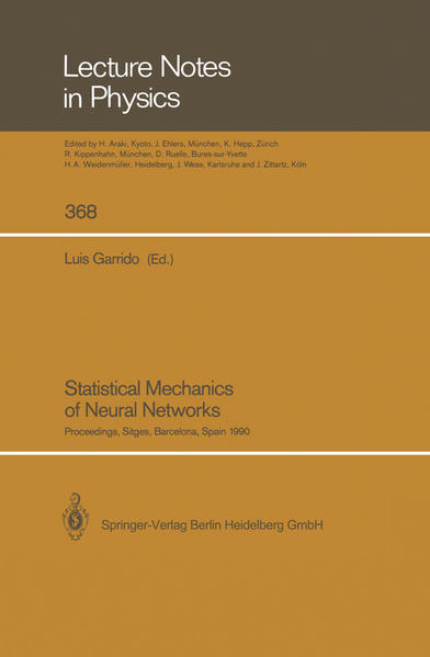 Statistical Mechanics of Neural Networks - Coverbild