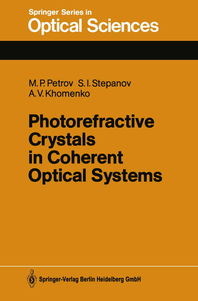 Photorefractive Crystals in Coherent Optical Systems - Coverbild