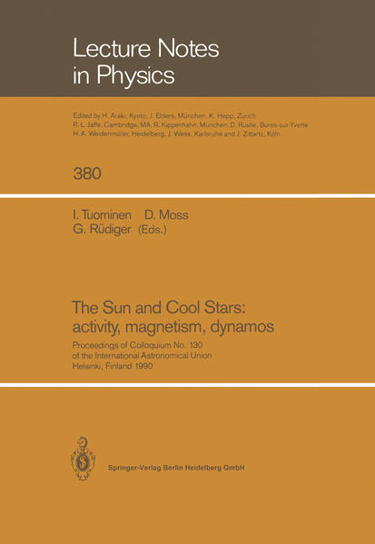 The Sun and Cool Stars: activity, magnetism, dynamos - Coverbild