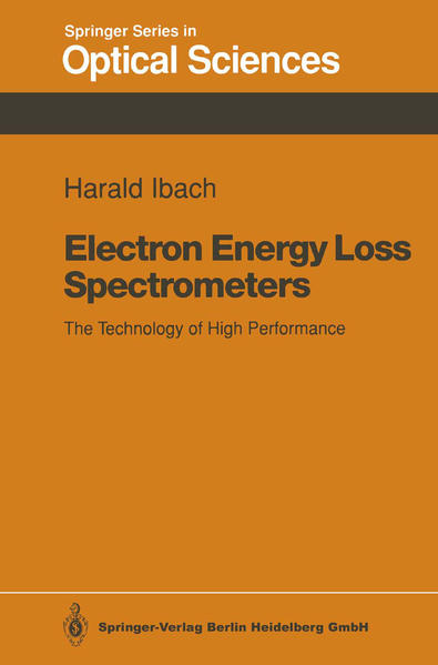 Electron Energy Loss Spectrometers - Coverbild