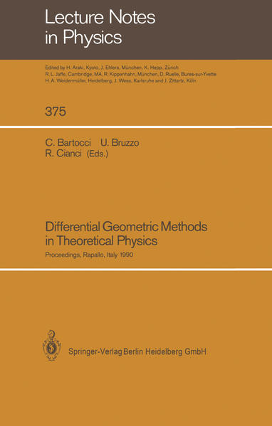 Differential Geometric Methods in Theoretical Physics - Coverbild