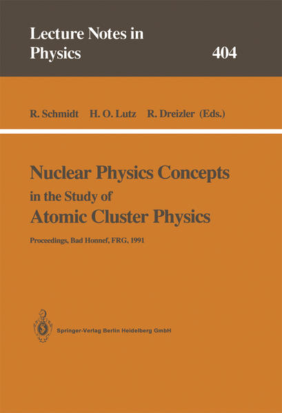 Nuclear Physics Concepts in the Study of Atomic Cluster Physics - Coverbild