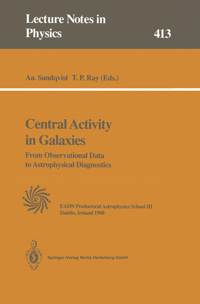 Central Activity in Galaxies - Coverbild