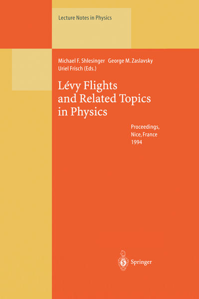 Lévy Flights and Related Topics in Physics - Coverbild