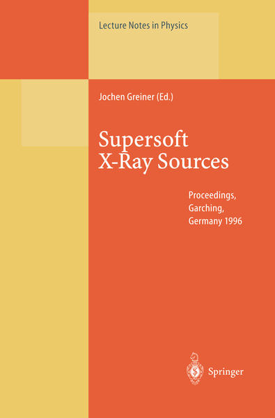 Supersoft X-Ray Sources - Coverbild