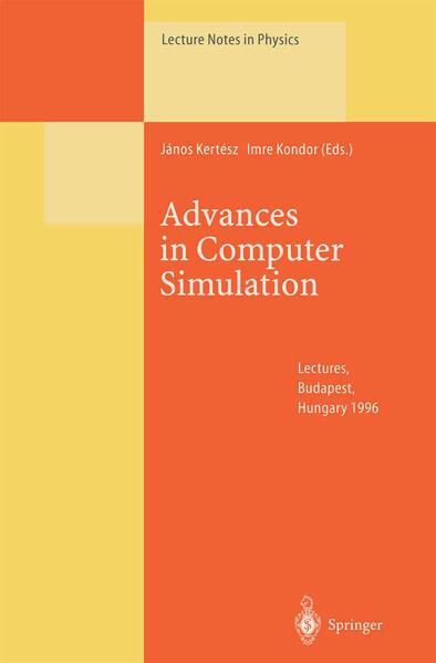 Advances in Computer Simulation - Coverbild