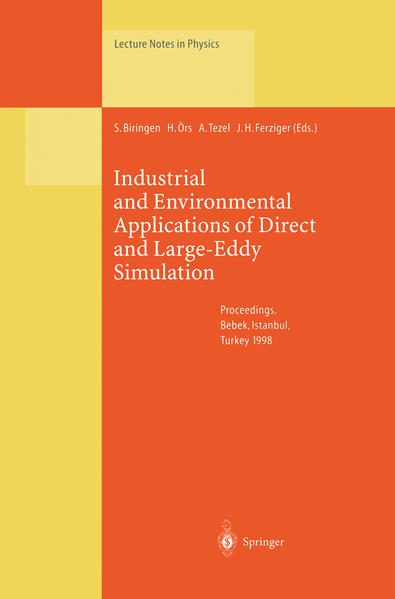 Industrial and Environmental Applications of Direct and Large-Eddy Simulation - Coverbild