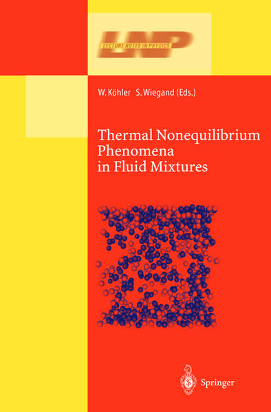 Thermal Nonequilibrium Phenomena in Fluid Mixtures - Coverbild