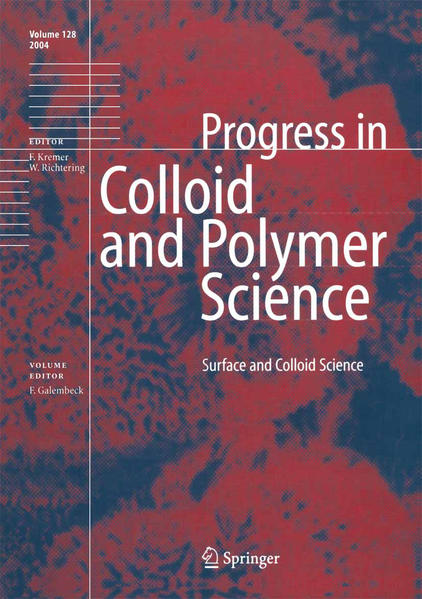 Surface and Colloid Science - Coverbild