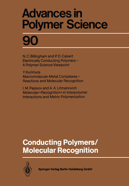 Conducting Polymers/Molecular Recognition - Coverbild