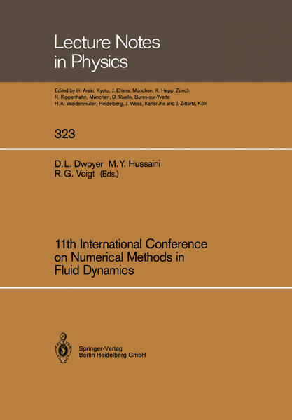 11th International Conference on Numerical Methods in Fluid Dynamics - Coverbild