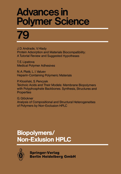 Biopolymers/Non-Exclusion HPLC - Coverbild