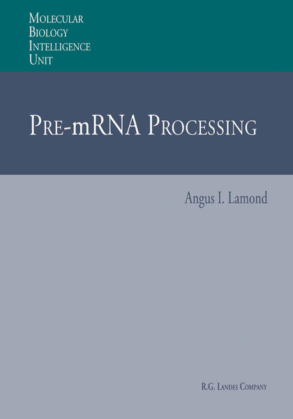 Pre-mRNA Processing - Coverbild