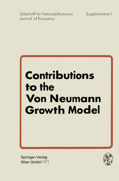 Contributions to the Von Neumann Growth Model - Coverbild