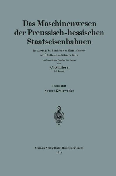 Neuere Kraftwerke der Preussisch-hessischen Staatseisenbahnen - Coverbild