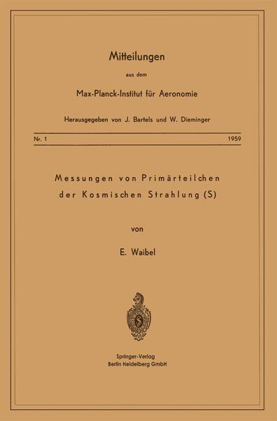 Messung von Primärteilchen der Kosmischen Strahlung (S) - Coverbild