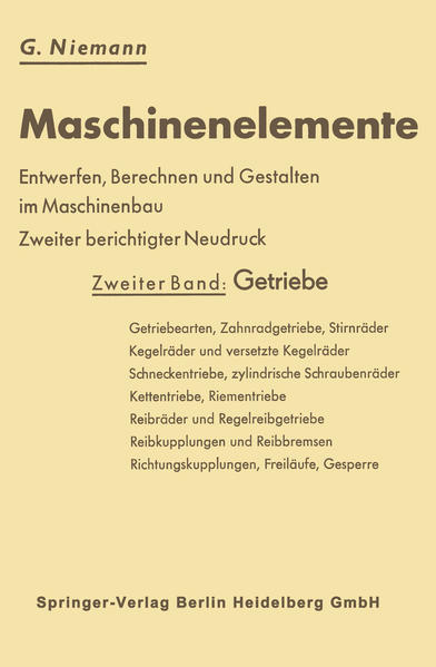 Maschinenelemente - Coverbild