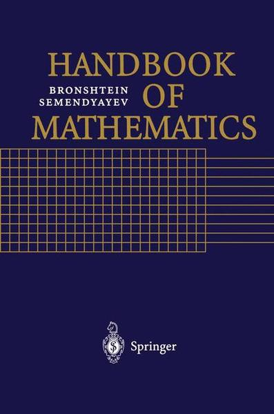 Handbook of Mathematics - Coverbild