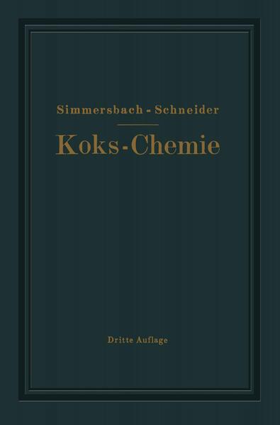 Grundlagen der Koks-Chemie - Coverbild